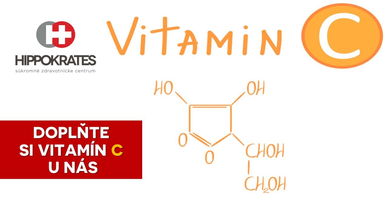 hippokrates infuzie vitamin c