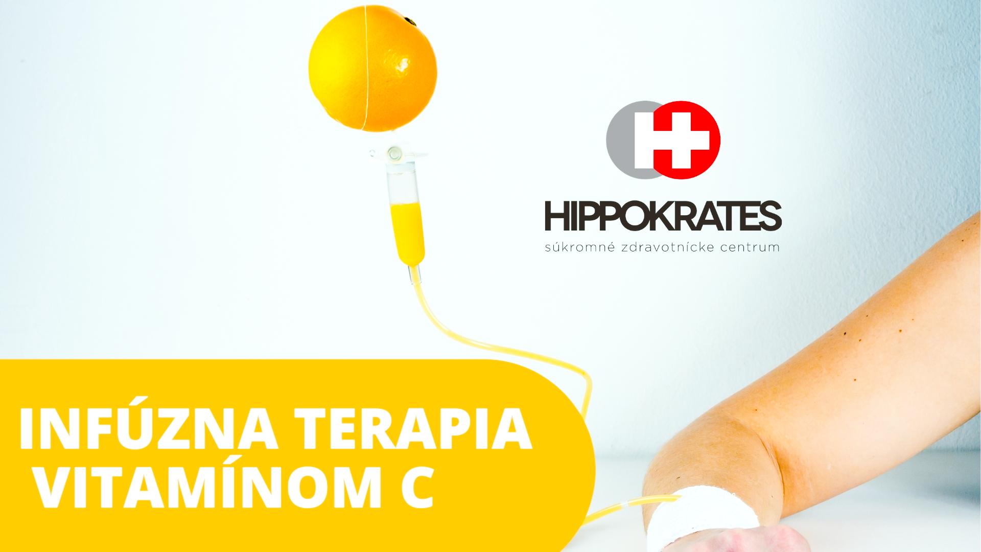 INFÚZNA TERAPIA VITAMÍNOM C Hippokrates